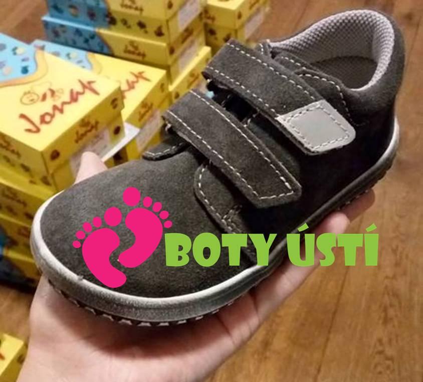 d742fe5469a Jonap dětské celoroční boty light na tkaničky modro-šedé
