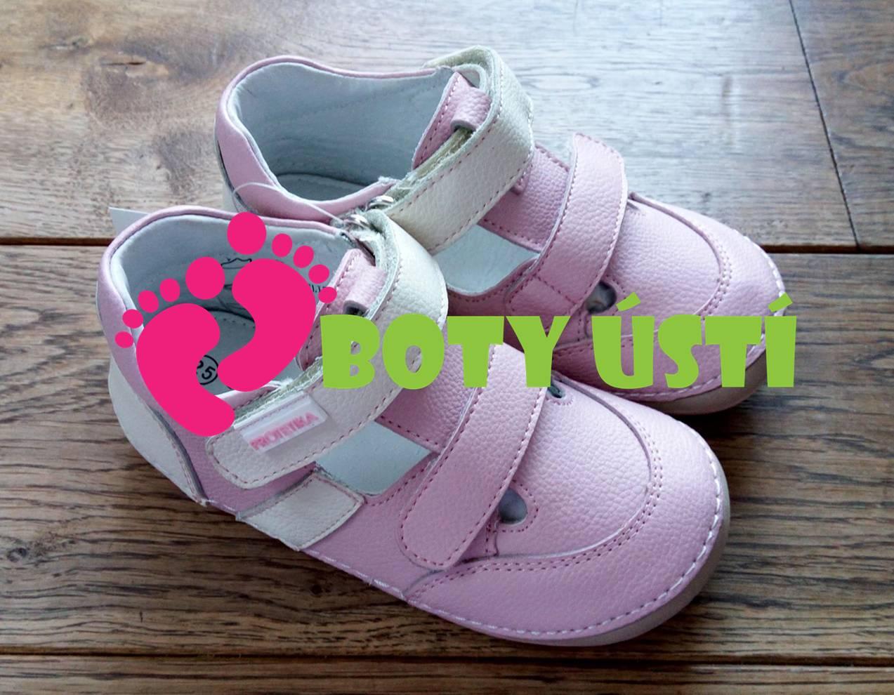 Barefoot sandály Flip Pink Protetika f5fcfe4ad1